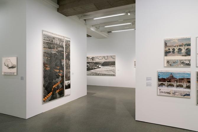 "Deutsche Bank PalaisPopulaire: ""Christo and Jeanne-Claude Projec"